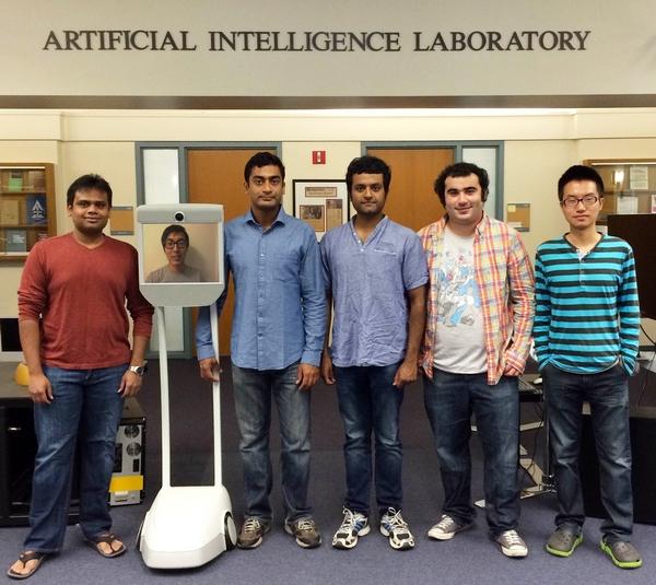 پروژه مغز آنلاین ربات ها