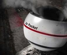 توپ تصفیه کننده هوا در صورت بروز آتش سوزی