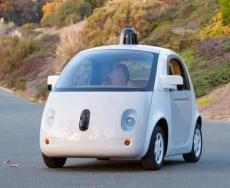 اولین نمونه کامل از خودروی گوگل
